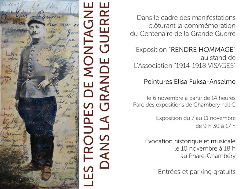 2018 Rendre Hommage 1914-1918, Chambéry